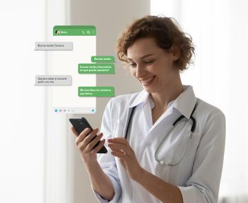 Chat con médico